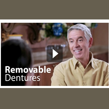 About removable dentures