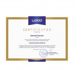 LOOD sertifikatas